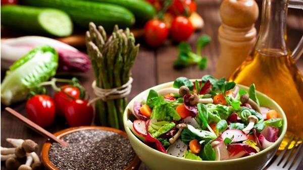 Primer zdravega obroka in zdravih makrohranil (maščobe, beljakovine in ogljikovi hidrati)