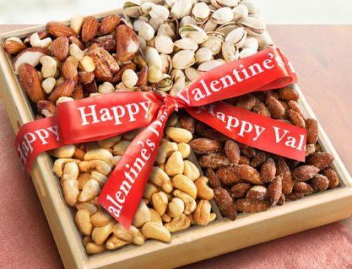 Oreščki za veselo valentinovo