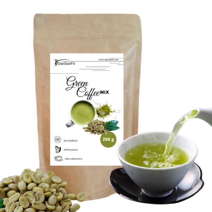 green coffee mix
